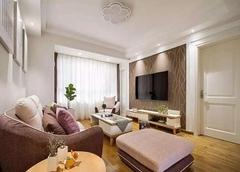 95㎡两室两厅简约装修 简单也是种美
