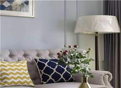套内80平米装修案例 美式两居室温馨爆棚