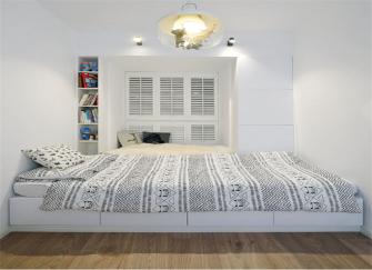 100平米三居室装修 两间儿童房设计非常赞