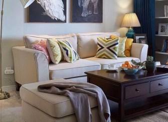 135㎡新房简约美式案例 自然而轻松的空间