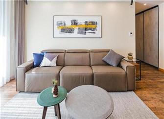 90平米两室两厅装修案例 软装花了20万 但是都说值