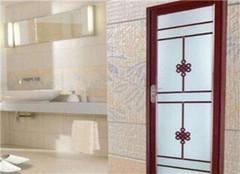 浴室装修细节:浴室门什么材质  浴室门装修有哪些细节