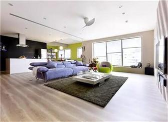 40平米小户型公寓七彩北欧风装修设计  谁说北欧风只能性冷淡