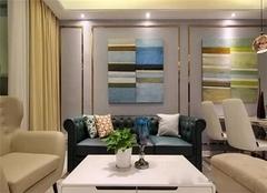 89平小三房欧式风装修 装饰画点缀墙面吸引眼球