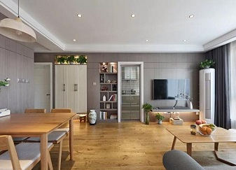 100㎡三室两厅北欧风装修 打造文艺温馨小屋