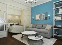 40平小户型公寓地中海风装修设计  柔和舒适浪漫生活