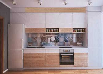 厨房定制橱柜应该选择什么样的橱柜