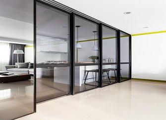 巧用玻璃隔断增强空间感,安装方法很关键