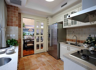 让你看一眼就爱上的小清新厨房