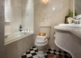 今年流行的卫生间装修风格 小清新田园风好唯美