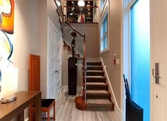 复式楼梯装修案例效果图,楼梯装修也能彰显主人个性