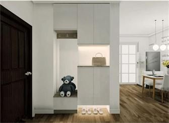 鞋柜怎么设计比较实用? 6种最实用方案让鞋柜空间增大一倍