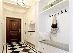 136平三居室美式风装修效果图  个性美观舒适清新