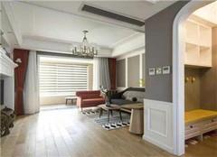 125平美式小三居装修效果图  低调轻奢温馨有趣