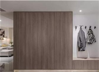 140平简约混搭风装修效果图  既有北欧的风情也有简约的舒适