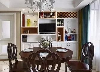 餐边柜设计遵循原则 选择和摆放方法总结