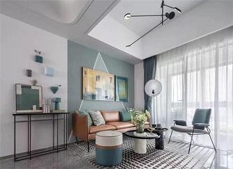 52平米2室小户型装修 清新活力十分居家