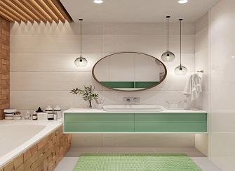 如何打造干净简洁的卫生间|卫生间装修效果图