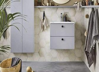 清爽北欧风格浴室装修 要的就是这种感觉