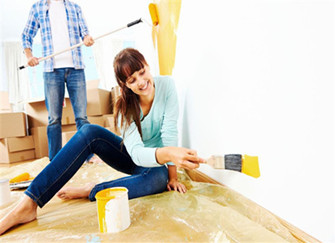 简单刷墙体的3种方式