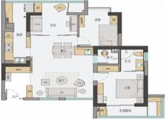 北京两室改三室怎么改 她家80平米改造成三室太惊艳!