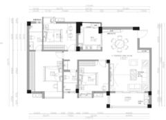 120平米三居室北欧风格装修 简约清新是理想家的样子