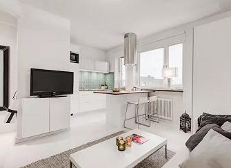 这套25平米单身公寓效果图,相信90后都会喜欢!