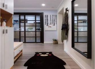 江阴70平小户型装修设计 时尚温馨是心目中的理想家