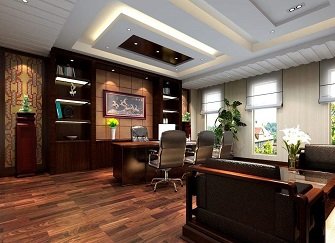 公司办公室中式化装修需注意的五大关键要素