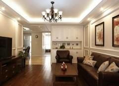 沾化三室两厅装修效果图  满屋的石膏线美爆了