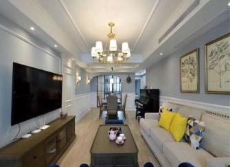 柳州美式装修案例 16万装好130平美式之家