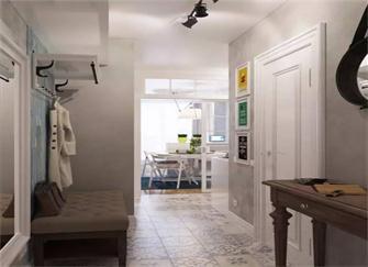 昆明单身公寓装修效果图 她家40平米精巧又温馨