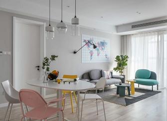 宁海室内装修95平米的房子多少钱?宁海室内装修简约风格案例