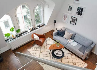 渭南单身公寓装修案例 60平单身公寓装修效果图欣赏