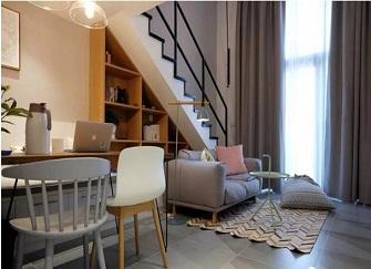 扬州复式装修多少钱 扬州复式公寓精装修效果图