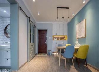 江阴两房两厅装修价格 70平两房两厅北欧风装修很赞