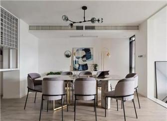 南京御江金城二手房翻新 140平三居室装修案例