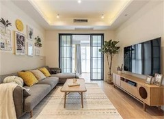 北京魏公村小区69平两室一厅北欧风装修设计
