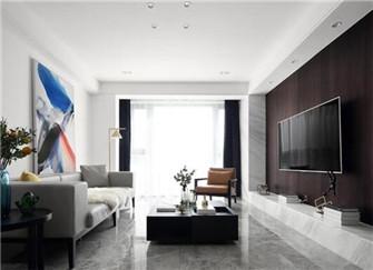 温州紫金华府120平米现代简约风装修案例分享