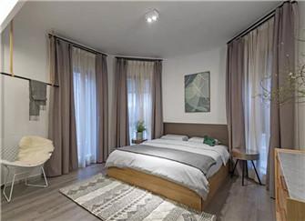 长沙藏珑湖上国际花园132平米三室两厅装修案例