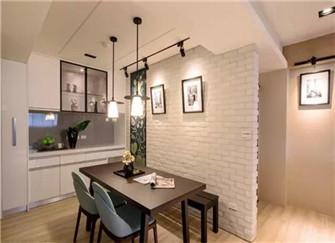 西安汇林华城93平两室两厅装修案例