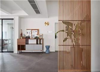 长沙江河中央洋房127平米现代简约装修案例