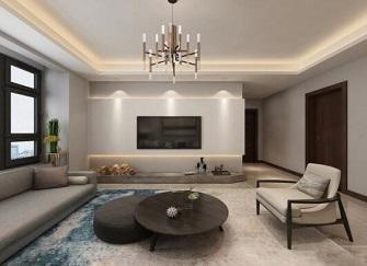 南通金鼎湾国际114㎡北欧简约风三居室装修案例
