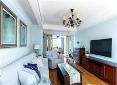 北京首邑上城98平三室一厅简约风装修设计案例