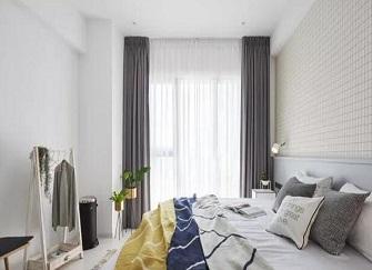 张家港汇金花园98平三居室装修案例 北欧风的美真的没话说
