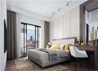 芜湖新都花园86平两室两厅装修效果图
