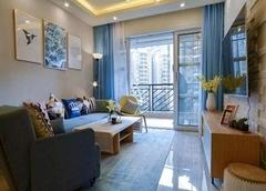 成都锦江国际花园85平北欧风装修效果图 营造温馨舒适之家