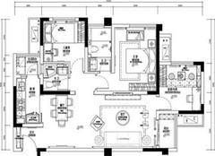 泰州友谊花园介绍 泰州友谊花园116㎡三室两厅装修效果图