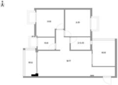 湖州佳园小区怎么样 湖州佳园小区104㎡三室两厅装修设计