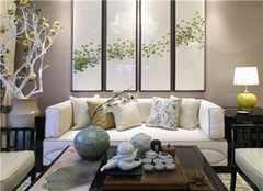 日照岚桥观澜公寓124平东南亚风装修案例分享